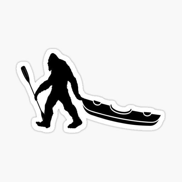 Bigfoot Kayak Sticker