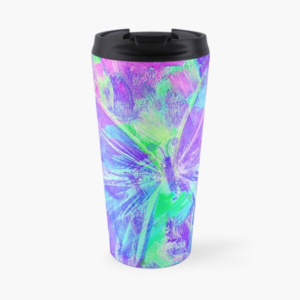 Purple Butterfly by Jan Marvin Travel Mug