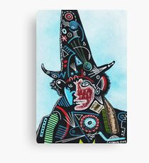 TOM BAKER THE WIZARD Canvas Print