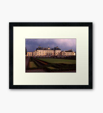 Drottingholm Palace, Sweden Framed Print