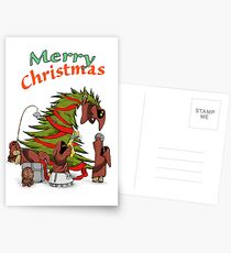 Merry Utini Xmas Postcards