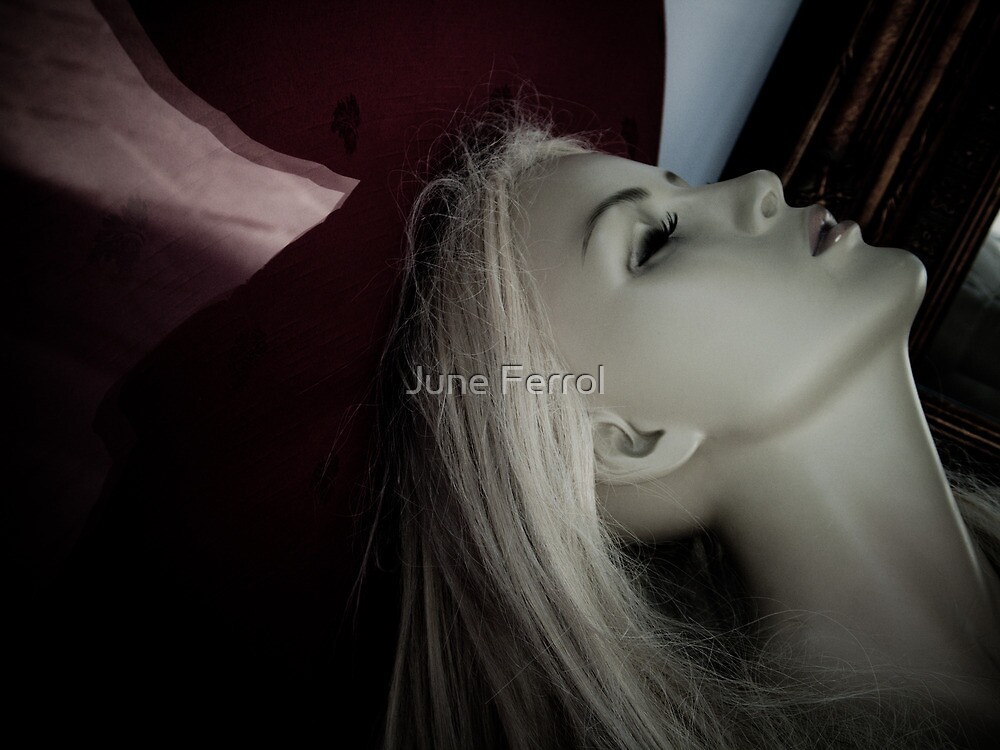 YOU EVER FELT LIKE A DUMMY...?  X by June Ferrol