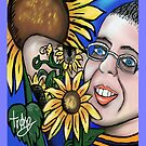 My Sunflower Freind  by Tracey Pearce