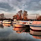 Norfolk Broads. by Lilian Marshall