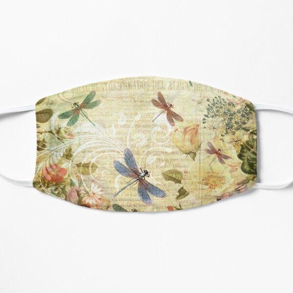 Dragonfly Dreams - Antiqued Flat Mask