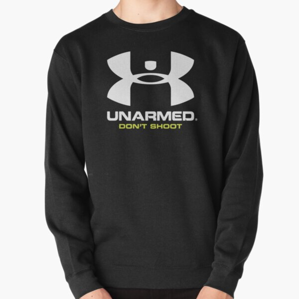 UnArmed: Don't Shoot (Lime Green) Pullover Sweatshirt