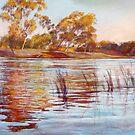 Reflections of Ekberg's Island by Lynda Robinson