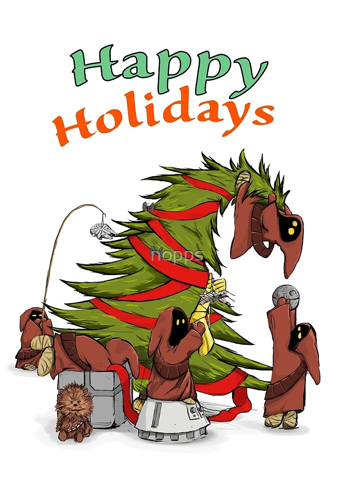 Happy Holidays from your little friends by nopps