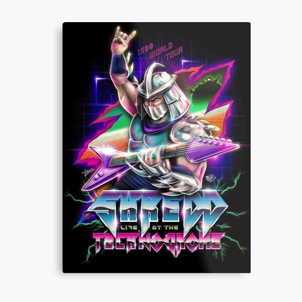 Shredd Live at the Technodrome in 1988 Metal Print