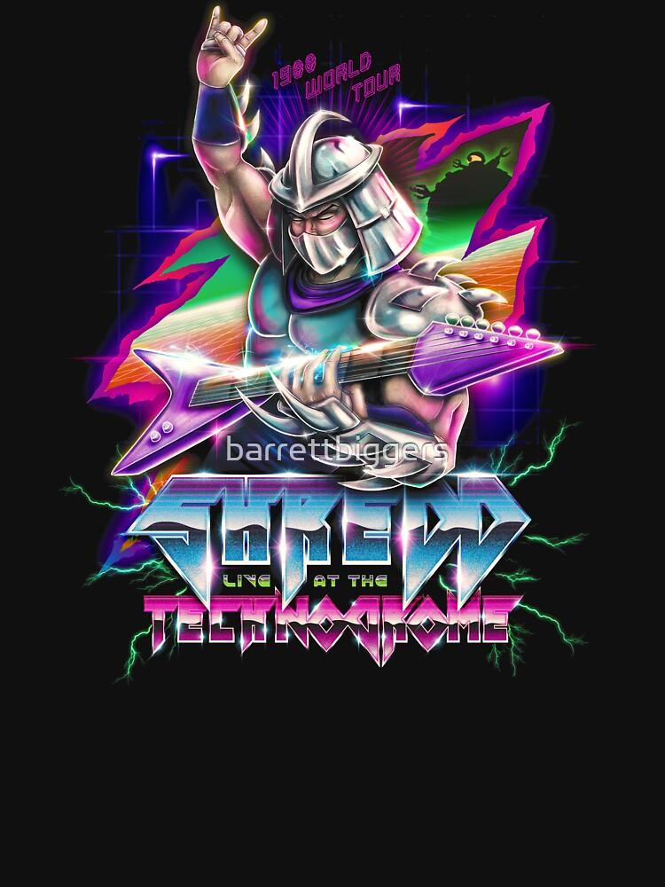 Shredd Live at the Technodrome in 1988 by barrettbiggers