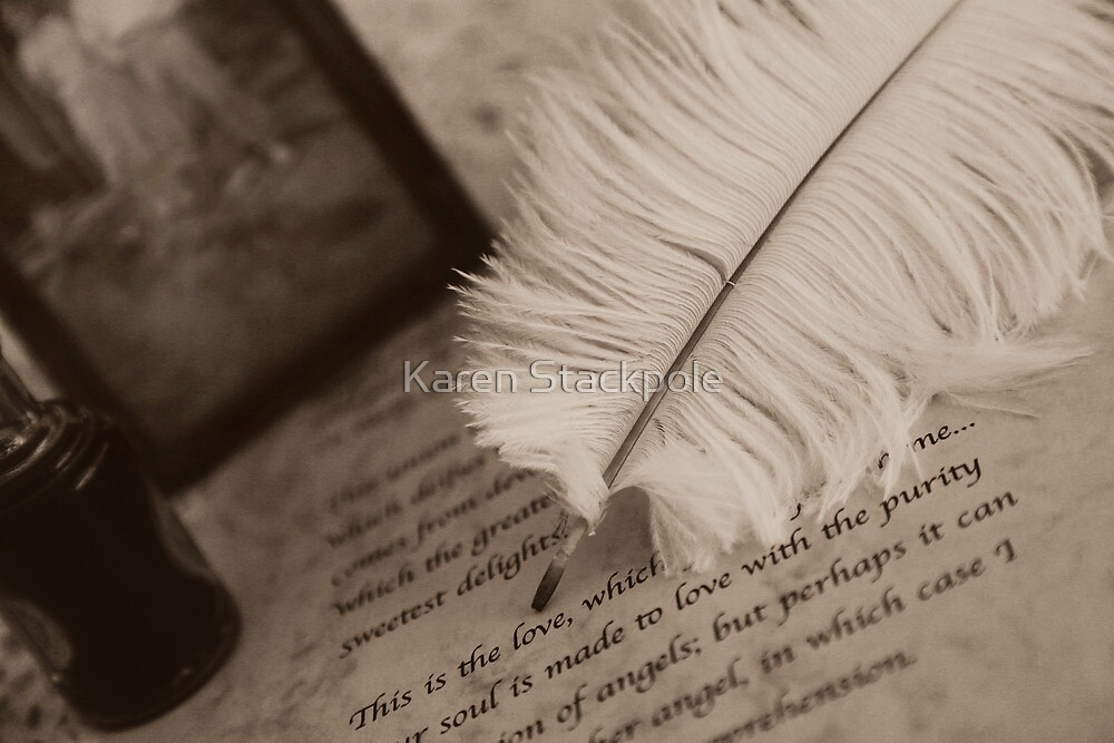 The old QUILL by Karen Stackpole