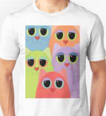 CAT FACES FIVE T-Shirt