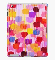 DOTTY in Pink - October Special Revisited Bold Colorful Polka Dots Original Abstract Painting iPad Case/Skin