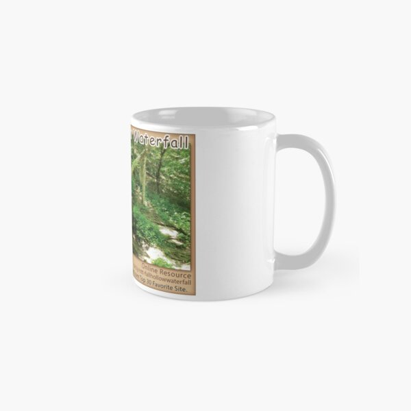 Fall Hollow Waterfall on the Natchez Trace Parkway. Classic Mug