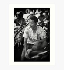 Faces of Kuta #03 ... Deep in thought Art Print