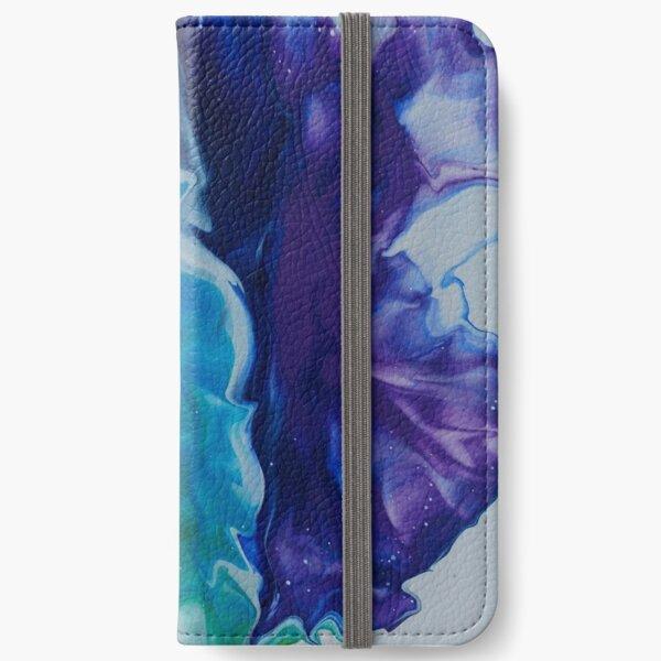 Flowing Pride - White iPhone Wallet