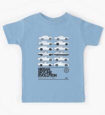 Nissan Skyline History Kids Tee