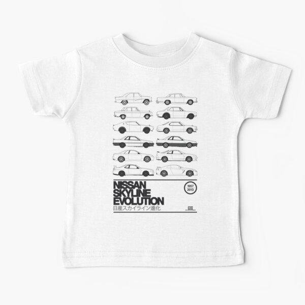 Nissan Skyline History Baby T-Shirt
