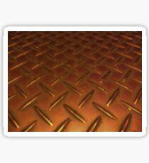 Hard Metal In Heat Sticker