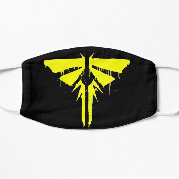 yellow Fireflies Flat Mask