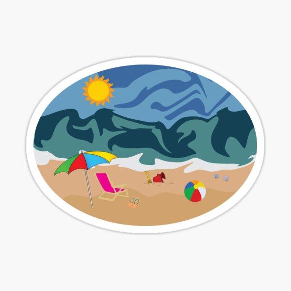 Beach / Summer Vibe Sticker