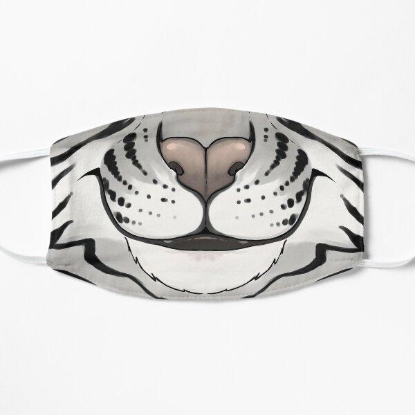 Emotive - Happy White Tiger Mask