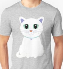Only One White Kitty Unisex T-Shirt