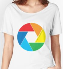 colorful aperture Women's Relaxed Fit T-Shirt