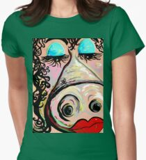 Lipstick on a Pig Womens Fitted T-Shirt