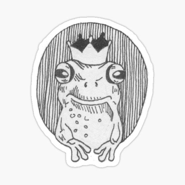 Froschkönig Sticker
