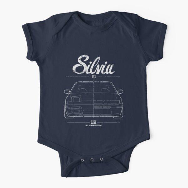 Silvia S13 180SX Short Sleeve Baby One-Piece