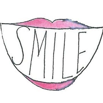 Sonrisa labios de charlo19