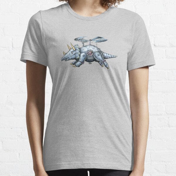 Tricerabot, Mechanical Flying Dinosaur Robot Essential T-Shirt
