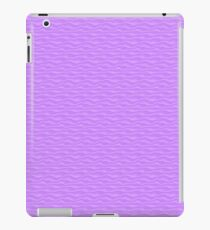 Violet Sand Dunes Abstract iPad Case/Skin