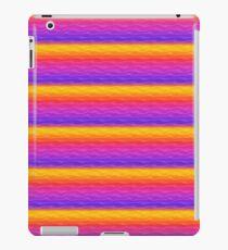 Vibrant Rainbow Sand Dunes iPad Case/Skin