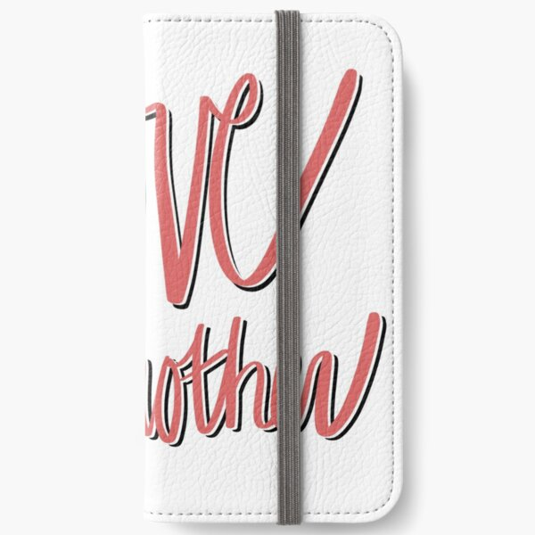 Love One Another Sticker iPhone Wallet