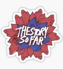 The Story So Far Flower Sticker