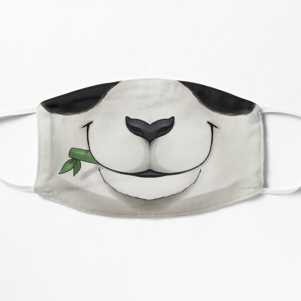 Emotive - Happy Bamboo Panda  Flat Mask