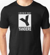 Yandere rating Unisex T-Shirt