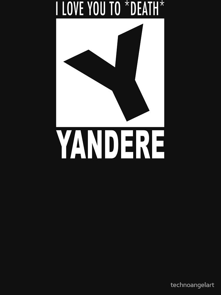 Yandere rating by technoangelart