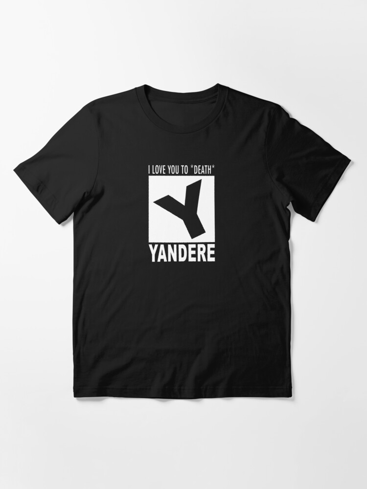 Alternate view of Yandere rating Essential T-Shirt