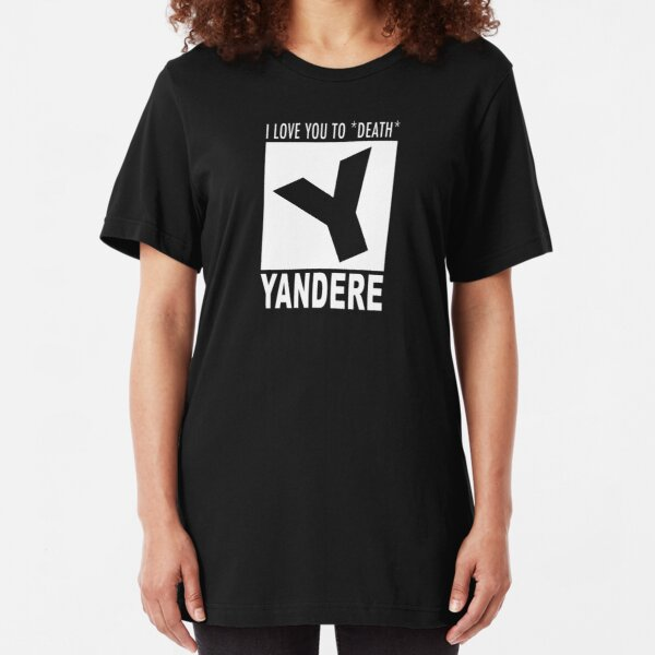 Yandere rating Slim Fit T-Shirt