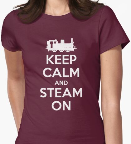 Keep Calm and Steam On Steam Engine #2A T-Shirt