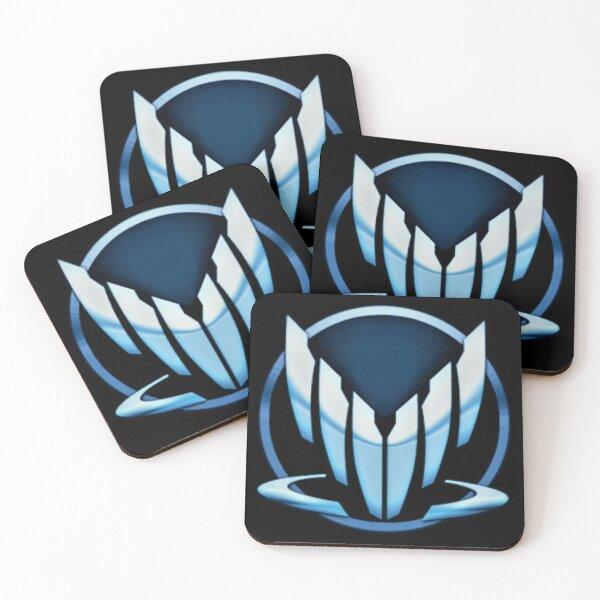 Mass Effect Spectre Simple Logo Coasters (Set of 4)