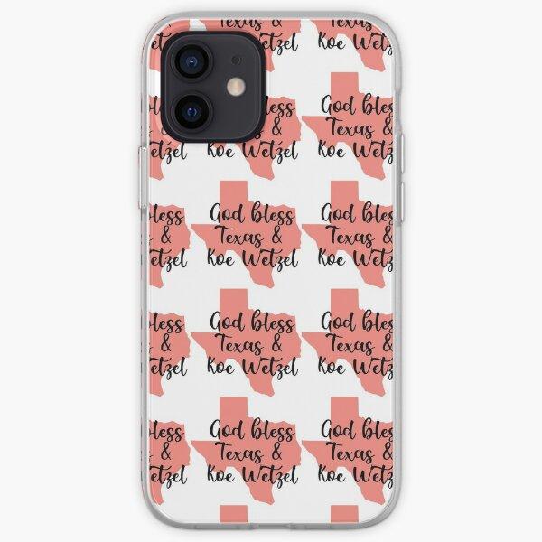 God Bless Texas & Koe Wetzel iPhone Soft Case