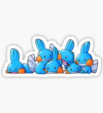 Bundle of Mudkips  Sticker