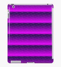 Purple Sand Dunes Abstract iPad Case/Skin
