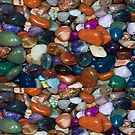 Polished Rocks of the Rainbow by pjwuebker