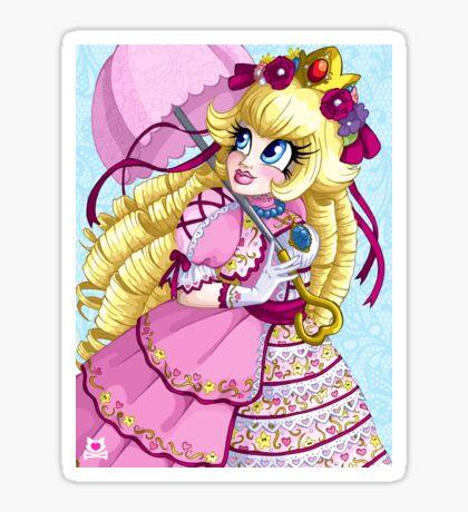 Lolita Princess Peach Sticker