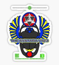 The Avatara VII23 KEPHRA TETRA MERCH 22 NOV 2012 Sticker